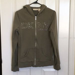 Women's DKNY Jacket With Hoodie